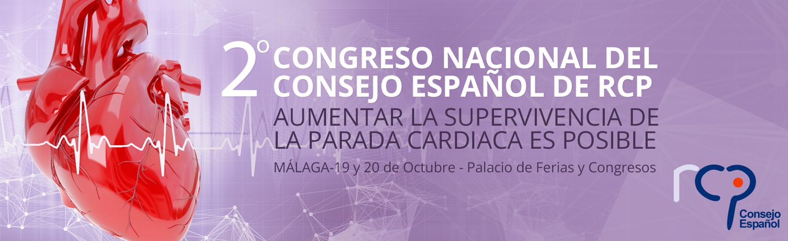 2º Congreso Nacional del Consejo español de RCP