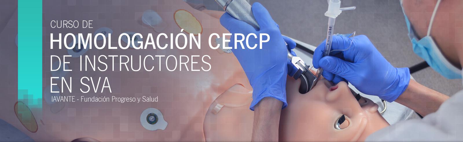 Homologación CERCP de instructores en SVA