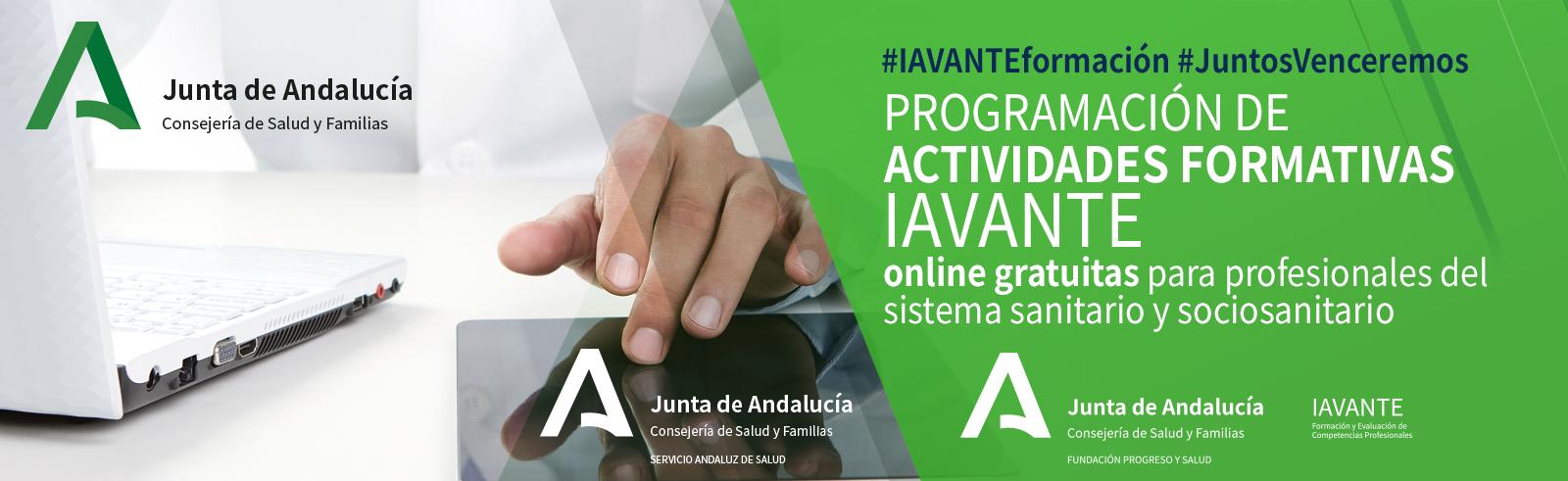 IAVANTE - Cursos online gratuitos para profesionales sanitarios y sociosanitarios